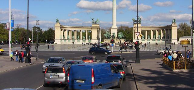 Trafic in Budapesta