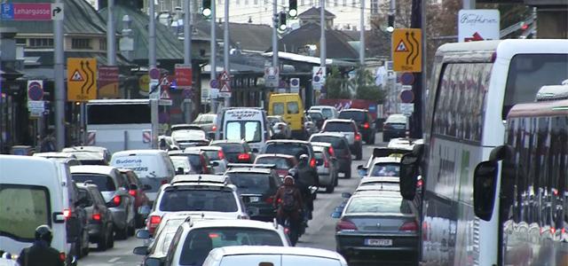 Trafic in Viena