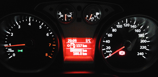 80000 Km Ford Focus