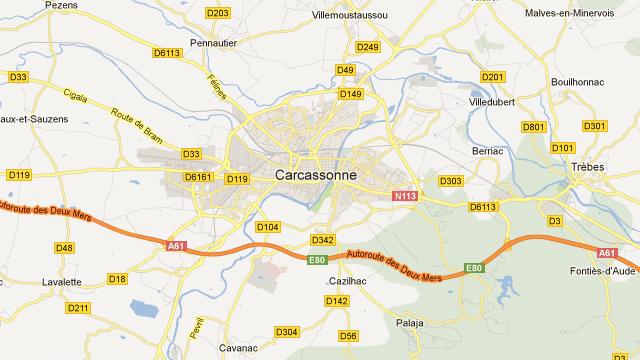 Harta Carcassonne