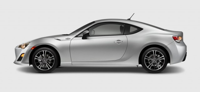 Scion FR-S lateral