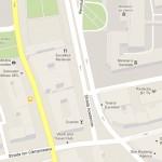 Harta Bucuresti Strada Academiei