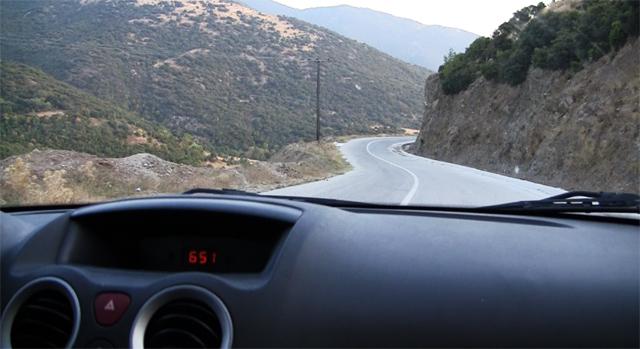 Cu masina in Grecia