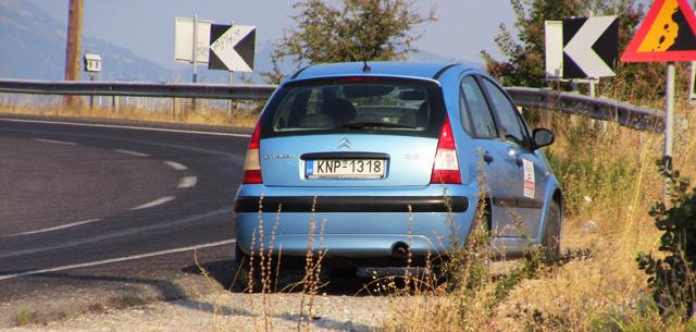 Masina inchiriata in Grecia