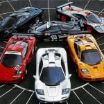 McLaren F1 toate modelele