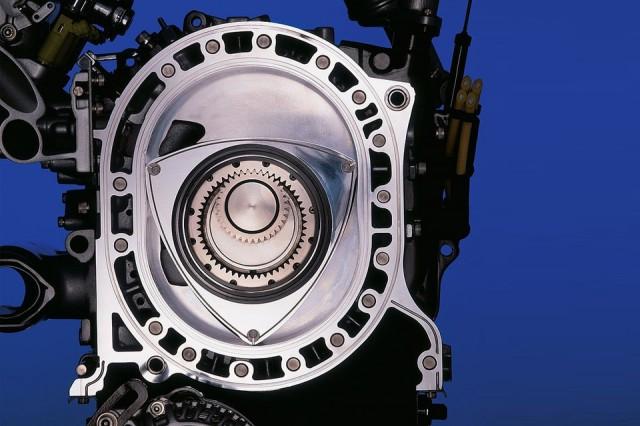 Motor Mazda RX8 Wankel