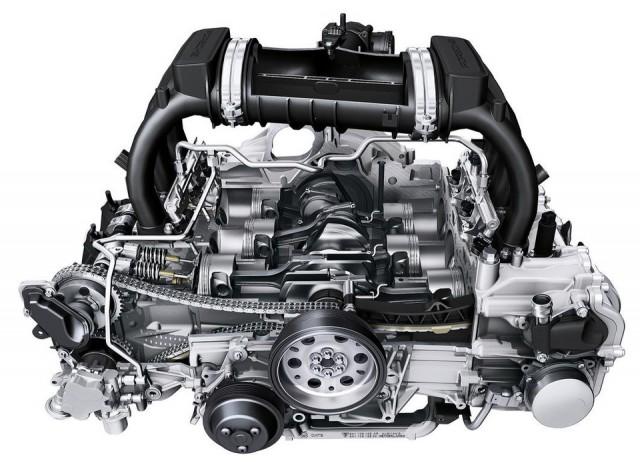 Motor Porsche Boxster S