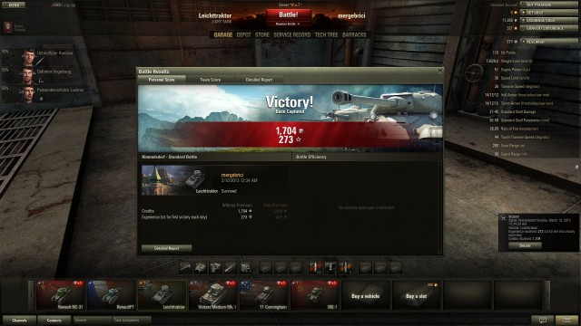 World of Tanks Print Screen