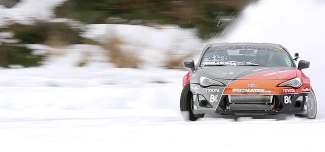 Drifturi pe zapada cu Toyota GT86