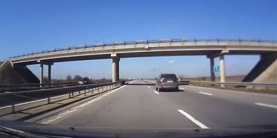 Filmare trafic Bucuresti - Pitesti timelapse