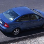 Ford Focus 2 2009 albastru benzina