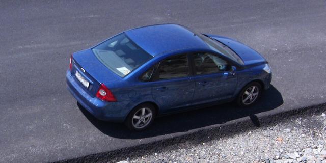 Ford Focus 2 2009 albastru benzina