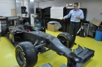 Masina de Formula 1 romaneasca