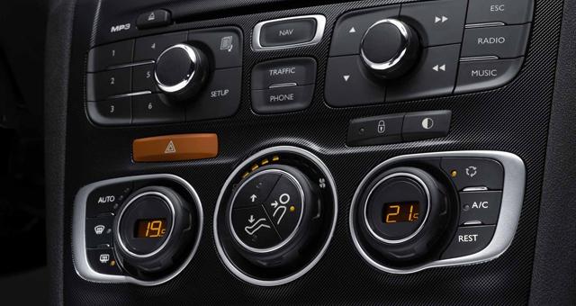 Modul aer conditionat auto climatronic
