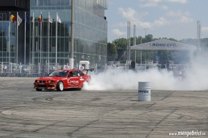 Burnout Iulian BMW (BWA 2013)
