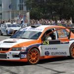 Rally Manu Mihalache Lancer EVO (BWA 2013)
