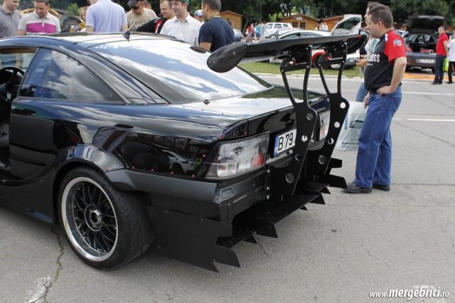 Spoiler drift Opel Calibra