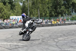 Christian Pfeiffer wheelie extrem (BWA 2013)