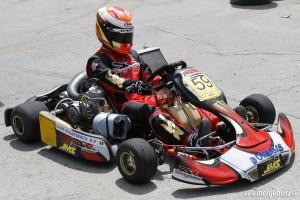 David Dugaesescu karting (BWA 2013)