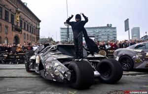 Gumball 3000 - Batmobile Tumbler din fata