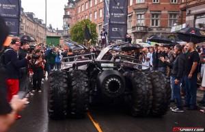 Gumball 3000 - Batmobile Tumbler din spate
