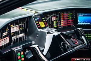 Gumball 3000 - Interior Pontiac (KITT)