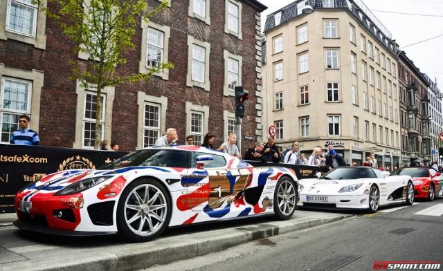 Gumball 3000 - supercar-uri