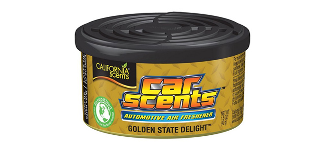 Odorizant auto California Scents-golden State Delight - guma turbo