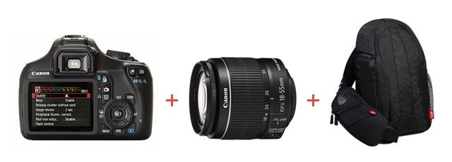 Oferta Canon EOS 1100D