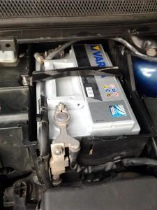 Baterie Varta Silver Dynamic pe Ford Focus