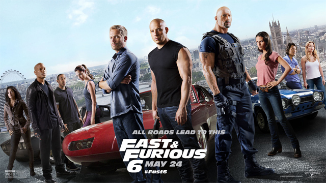 Fast and Furious 6 - Poster oficial