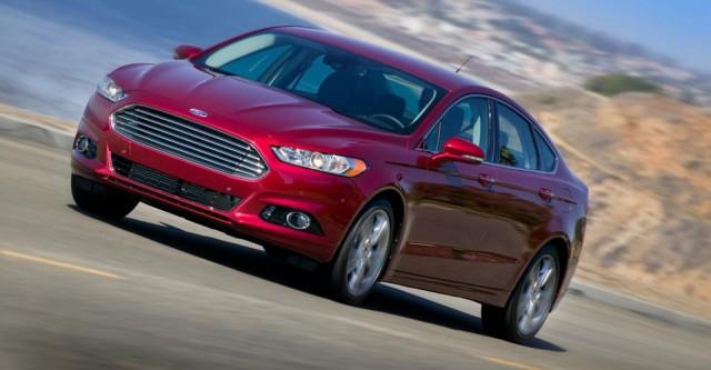 Ford Fusion Titanium EcoBoost 2013