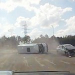 Accident Rusia camera auto