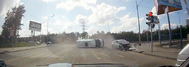 Accident Rusia camera auto