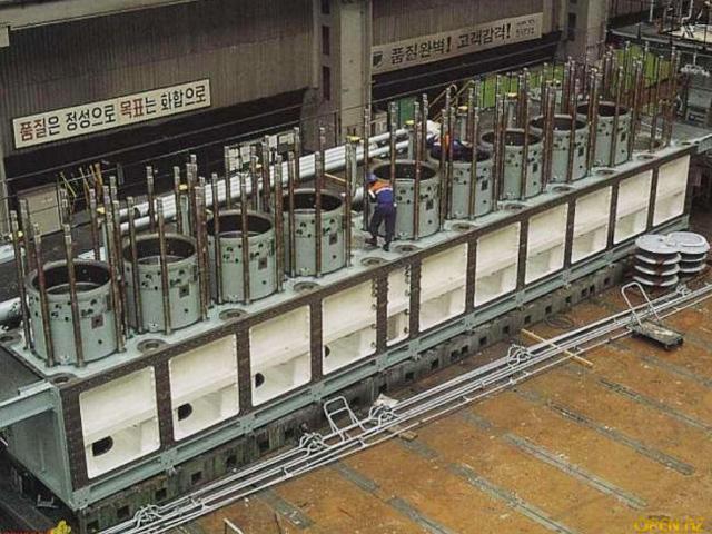 Cel mai mare bloc motor