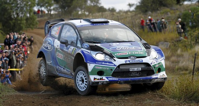 Ford Fiesta Rally 2012