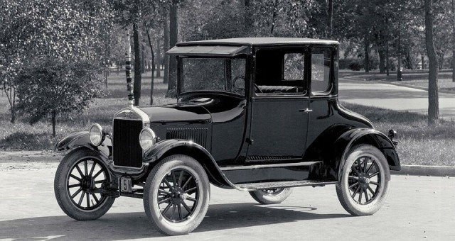 Ford T Coupe 1907