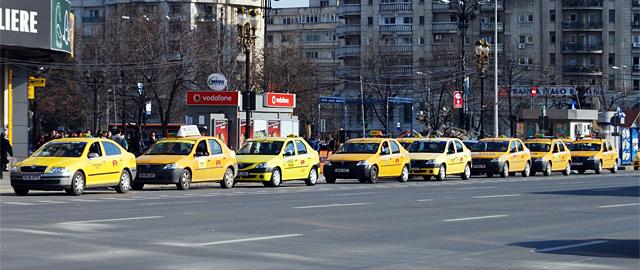 Taxi Bucuresti parcate