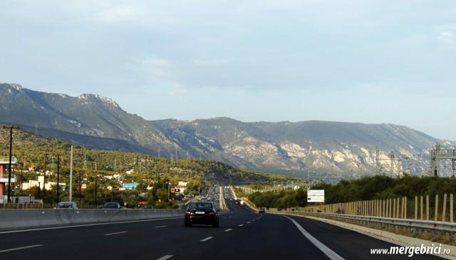 Autostrada imensa in Grecia