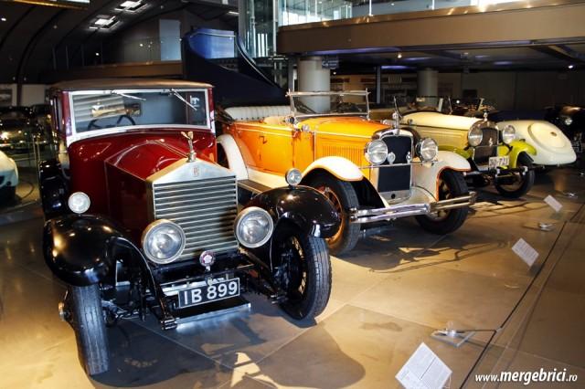 Expozitie Rolls Royce