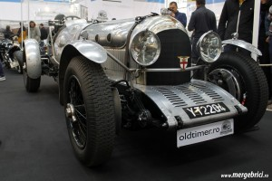 Bentley de curse vechi din fata - SAB 2013