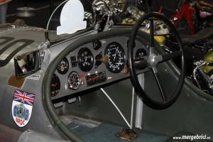 Bentley de curse vechi interior - SAB 2013