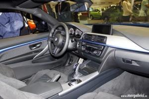 BMW M3 interior - SAB 2013