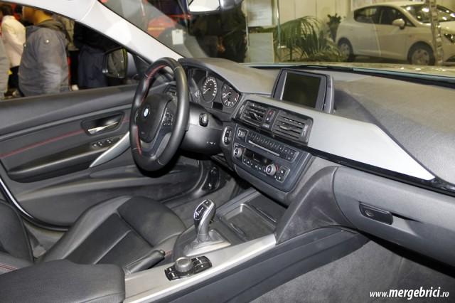 BMW Seria 3 interior - SAB 2013