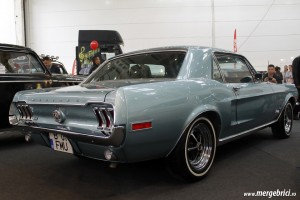 Ford Mustang Eleanor spate - SAB 2013