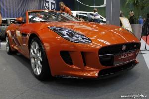 Jaguar F Type exterior - SAB 2013