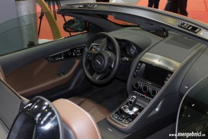Jaguar F Type interior - SAB 2013