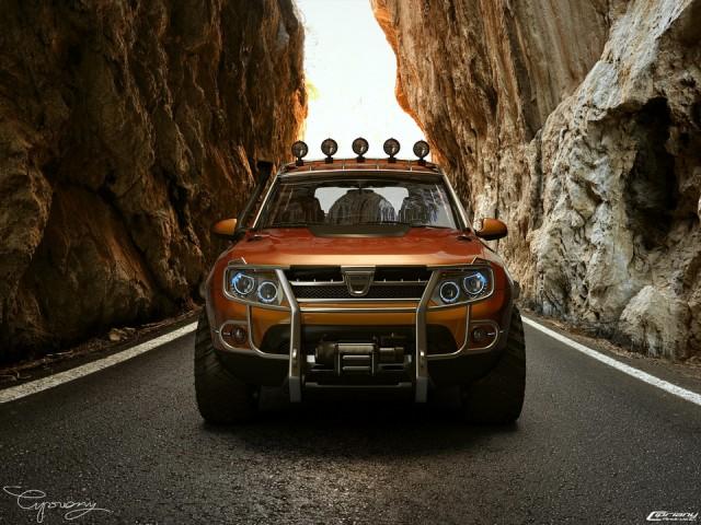 Masina 3D: Dacia Duster Tuning (cipriany)