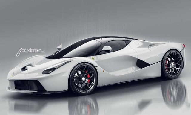 Masina 3D: La Ferrari (jackdarton)