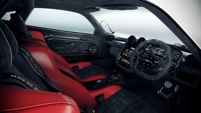 Masina 3D: Pagani Zonda Cinque interior (nasg85)